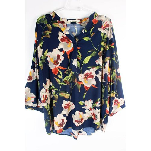 Blusa Florida (Plus Size)